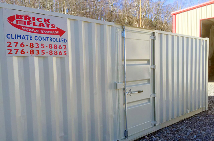 Climate controlled portable storage unit