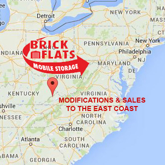 Brick Flats Mobile Storage Locations